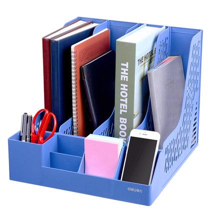 Deli Kệ hồ sơ  Hiệu quả tập tin giá văn phòng vật tư hộp tập tin nhiều lớp sinh viên đứng thư mục dà