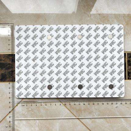Bảng hiệu kim loại Thiết bị quản lý tình trạng biển báo bằng nhựa 3M nam châm mạnh màu xanh nắp máy