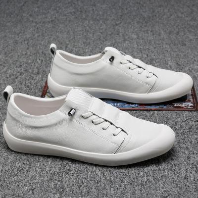 Giày mọi đế thấp Mùa hè mới giày da đậu nam giày lái xe bình thường đế mềm thời trang đế mềm đặt châ