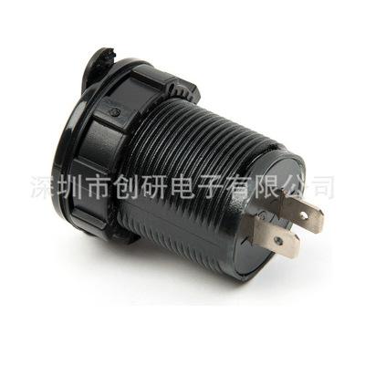 Đầu cắm sạc Xe hơi Lelian sạc xe máy và xe máy không thấm nước sạc điện thoại di động kép USB giao d