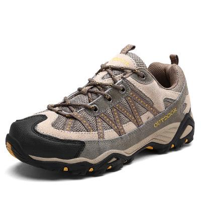 Giày đi bộ Giày đi bộ đường dài xuyên quốc gia ngoài trời Giày nam đi bộ chống nước chống giày Giày