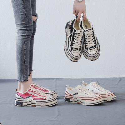 Giày Sneaker / Giày trượt ván Giày đế bệt nước sốt rùa Wu Jianhao với phiên bản Hàn Quốc của giày ho