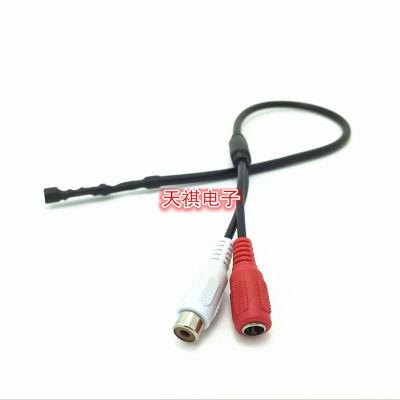 Thiết bị loa Moniter Độ trung thực cao Thu tiếng ồn thấp Micrô thu nhỏ có cáp TQ601A