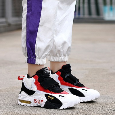 Giày FuJian Đôi giày một đôi nam và một đôi giày bóng rổ gây sốc 2019 Giày thủy triều mới đệm giày