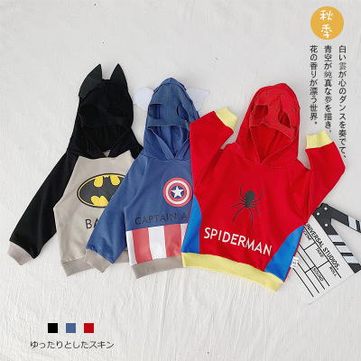 Thị trường trang phục trẻ em Trẻ em mặc một thế hệ 19 mùa thu mới của trẻ em Hàn Quốc áo len hoạt hì