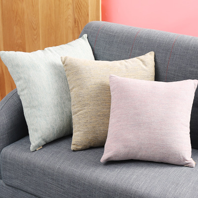 gối ôm Sofa gối đệm màu sắc phòng ngủ phòng khách gối Bắc Âu in hoang dã gối văn phòng gối thắt lưng