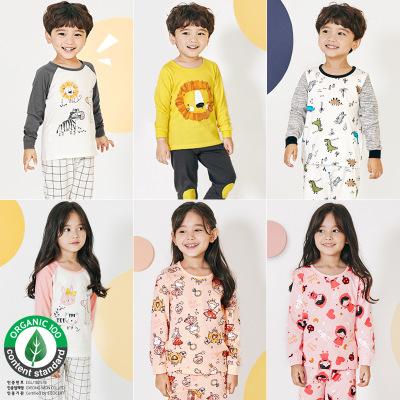 Đồ Suits trẻ em Spot unifriend Hàn Quốc mùa thu trẻ em trung tính trẻ em bộ đồ lót avatar bộ đồ lót