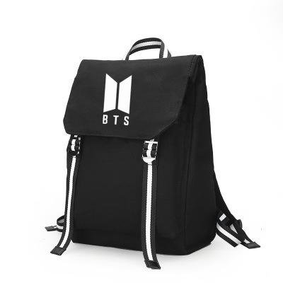 Túi đựng máy vi tính Bts nhóm thanh niên chống đạn xung quanh cùng một đoạn ba lô ba lô sinh viên tú