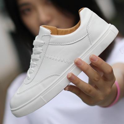 Giày trắng nữ Giày nhỏ màu trắng Giày nữ chống trượt thể thao giày thông thường Giày dép thanh niên