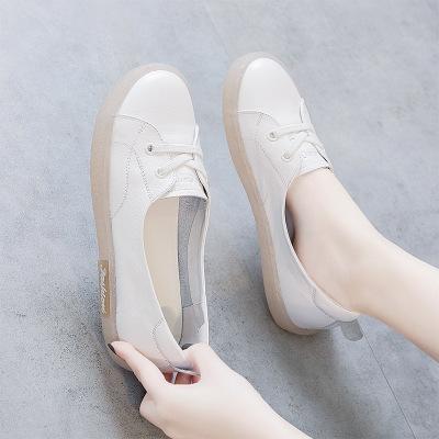 giày bệt nữ Giày bà bầu nữ 2019 mới hè hè size lớn ngoại thương Giày đơn gót mềm đế mềm chân rộng mỡ