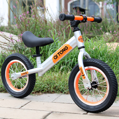 Xe điện 2 bánh tự cân bằng Xe trẻ cân bằng mới không có bàn đạp trượt trẻ em xe tay ga trẻ em xe đạ