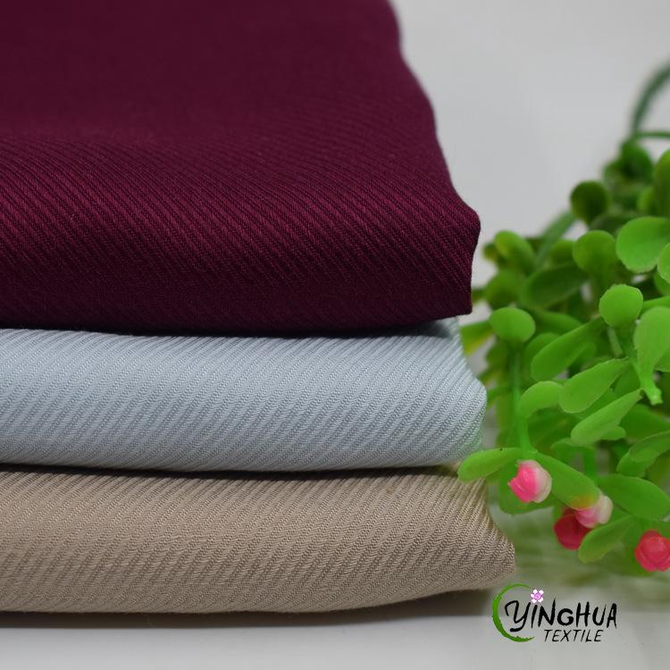 YINGHUA Vải Visco (Rayon) Đầm cotton cotton hai mặt xiên mùa xuân và mùa hè Váy cotton nhân tạo đặt