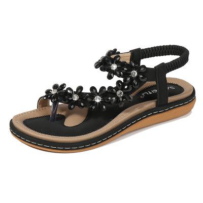 Thị trường giày nữ Dép nữ 2019 mùa hè hoa kim cương mới tập trung vào giày nữ ngoại thương cỡ lớn hỗ