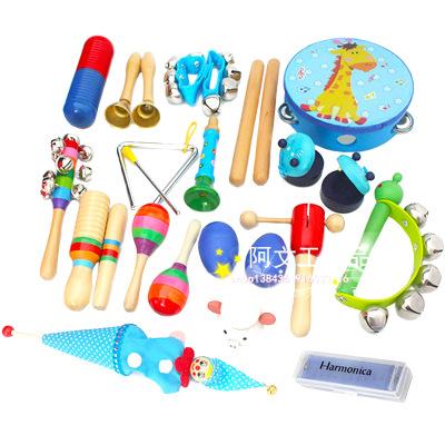 Đồ giảng dạy trẻ sơ sinh Bộ gõ Orff bộ 22 miếng Bộ đồ chơi cho trẻ sơ sinh Đồ dùng dạy học sớm Đồ ch