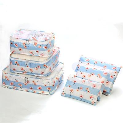 VaLi hành lý Phiên bản Hàn Quốc của gói hoàn thiện khoang hành lý sáu mảnh Túi du lịch dung lượng lớ