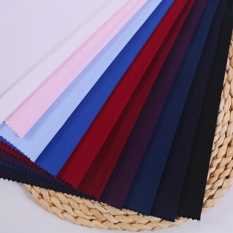 DONGNA NLSX vải Mùa xuân và mùa hè mới chống nhăn không dệt đan xen sợi tre căng vải kinh doanh vải