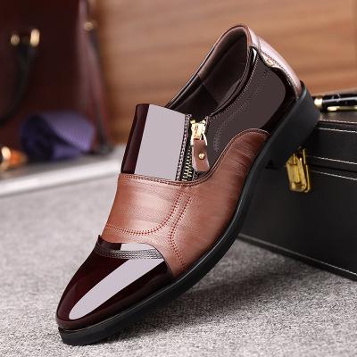 Giày lười / giày mọi đế cao Ngoại thương nam mới kinh doanh giày bình thường váy cưới giày đơn Anh G