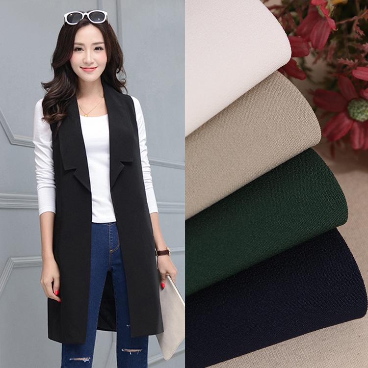 NLSX vải Nhà máy trực tiếp thời trang vest quần short nhỏ phù hợp với vải 200D vải dệt nhiều màu