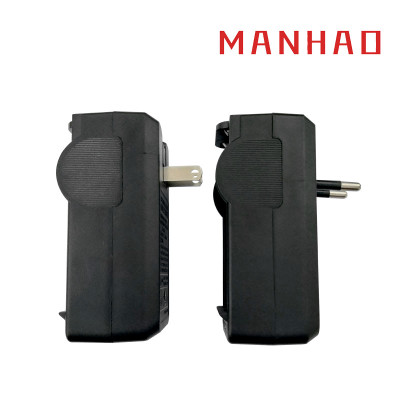 Đầu cắm sạc Sạc 18650 Sạc pin lithium 3.7v sạc pin mạnh đèn pin thông minh chống ngược 18650 sạc đôi
