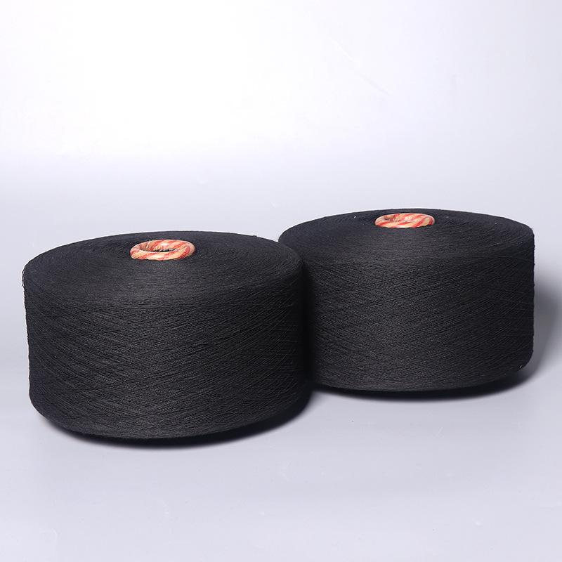 Sợi bông đen, sợi đen, sợi bông không khí đen đen 6.8.10.12.16.19,21 sợi bông