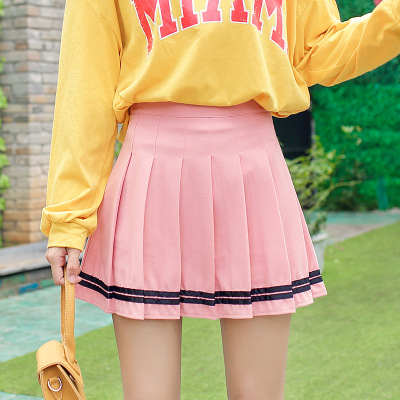 váy Nguồn thể loại Spot Style College Hoa văn Màu sắc Nguồn hình ảnh chính Chụp thật với mô hình Th