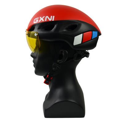 Mũ bảo hiểm xe đạp Xe đạp mũ bảo hiểm đường núi xe đạp cưỡi mũ bảo hiểm tích hợp đúc từ kính chronog