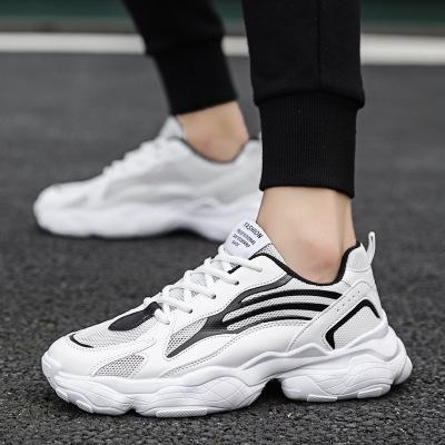 Giày lưới Giày mới 2019 giày thoáng khí cho nam giày thông thường xu hướng giày lưới mặt cũ tăng già