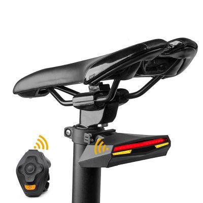 Đèn hậu điều khiển từ xa bật tín hiệu laser cảnh báo cho xe đạp leo núi