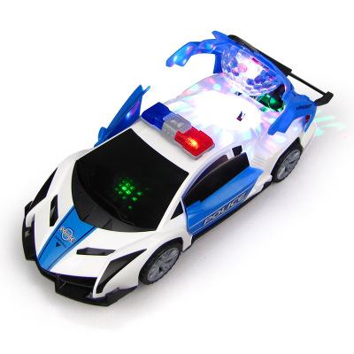 Xe đồ chơi cảnh sát cho trẻ em .