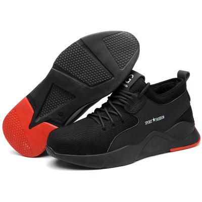 Giày bảo hộ Giày bảo hiểm lao động xuyên biên giới đặc biệt giày nam chống mọt chống trượt mùa thu m