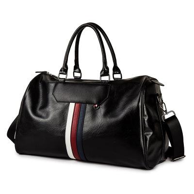 Túi xách du lịch Da mềm mới xách tay kinh doanh bình thường nam túi đeo vai chéo da chính thức kinh