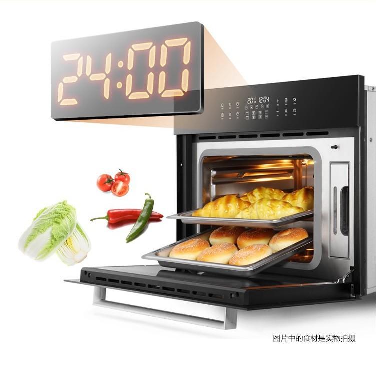 GUODING Lò vi sóng, lò nướng Lò hấp tích hợp lò hấp hai trong một hấp gia đình hấp một máy phát điện
