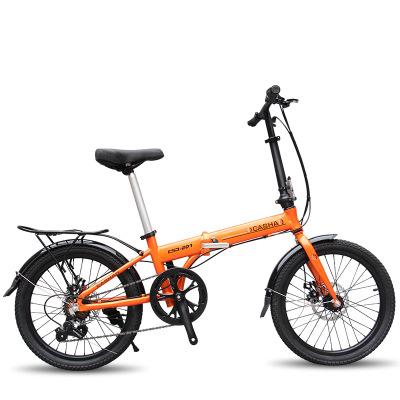 xe đạp mini Hợp kim nhôm gấp 20 inch