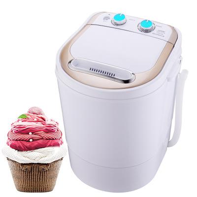 Khác Máy giặt Máy giặt mini nhỏ bán tự động với máy giặt khô nhỏ nhanh khô với máy khử nước thế hệ b