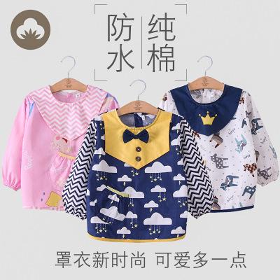 Áo khoác Áo trẻ em cotton bốn mùa dài tay không thấm nước cho bé chống mặc quần áo trẻ em ăn mặc bảo