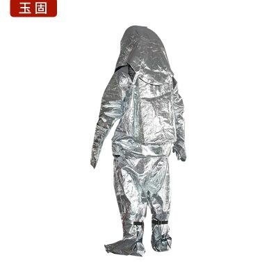 Trang phục chống cháy Đầy đủ bộ nhôm chống cháy cách nhiệt bảo vệ nhiệt độ cao chống tróc thép chống