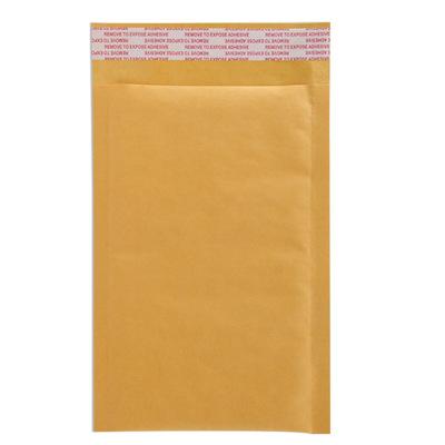 bao thư chống sốc Nhà máy trực tiếp phong bì bong bóng dày giấy kraft vàng dày Túi chống thấm bao b