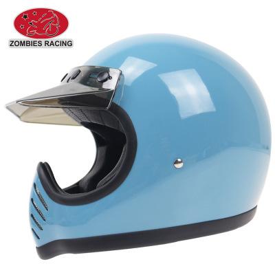 Mũ bảo hiểm xe đạp Xe máy chính hãng Harley mũ bảo hiểm xuyên quốc gia Xe máy retro mũ bảo hiểm Bốn