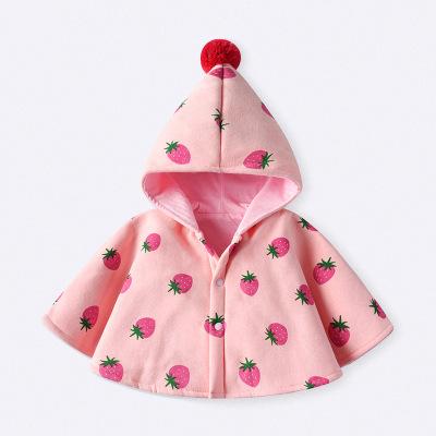 Áo choàng trẻ em Áo trẻ em 2019 mới thu đông và áo choàng cho bé áo choàng bé ra khỏi gió và giữ áo