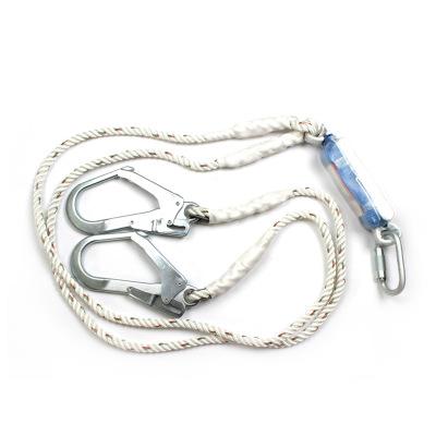 Dây đai an toàn   3M Keppel 1390398 Đầu tiên kết nối giảm xóc đôi móc treo dây bảo vệ rơi dây an toà