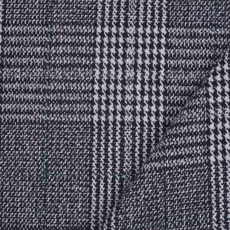 BULILI NLSX vải Nhà máy trực tiếp vải houndstooth vải Gezhongge vải kẻ sọc lớn đặt ở vị trí vải houn
