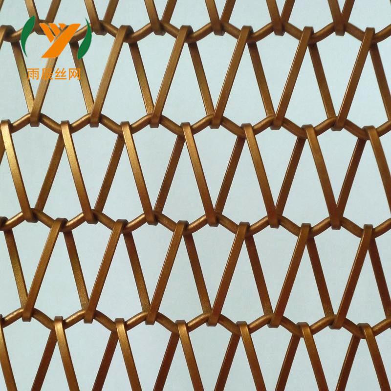 YUCHEN Lưới kim loại Nhà máy trực tiếp kim loại trang trí lưới kim loại rèm tường lưới rèm kim loại