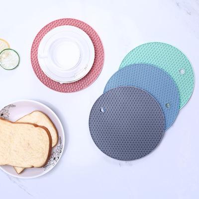 ZHIYONG Đệm chống trơn Dày tổ ong thực phẩm lớp silicone bữa ăn coaster chống trượt pad cách nhiệt p