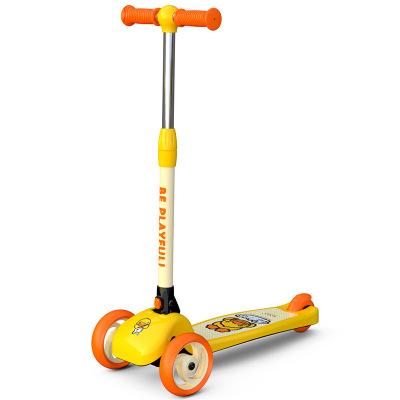 LUDDY Xe tập đi Xe tay ga trẻ em Le có thể gập lại cho bé xe đu phù hợp cho bé 36 tháng 3-6 tuổi