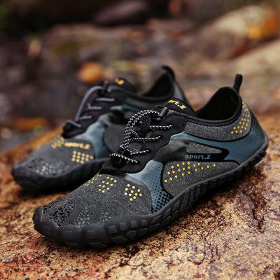 Giày đi bộ Mô hình vụ nổ xuyên biên giới giày năm ngón đi bộ giải trí ngược dòng giày nam và nữ giày