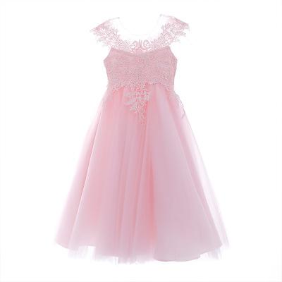 Trang phục dạ hôi trẻ em Mùa hè 2019 trẻ em mới váy hoa bé gái váy bé gái ngực lớn hoa công chúa váy