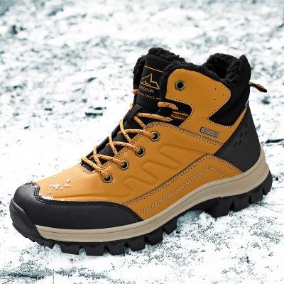 Giày đi bộ Giày nam xuyên biên giới Amazon 2019 mùa đông giày đi bộ đường dài mới cho nam cộng với g