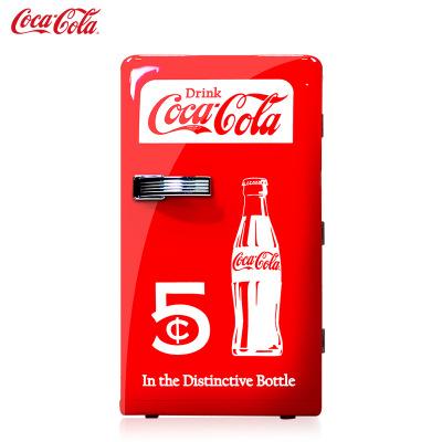 Tủ lạnh Coca-Cola 12L mini tủ lạnh nhỏ hộ gia đình nhỏ tủ lạnh ô tô ký túc xá sinh viên tủ lạnh di đ
