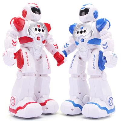 Rôbôt  / Người máy Robot chiến tranh cơ học giáo dục sớm Robot hát cảm biến hồng ngoại trẻ em điều k