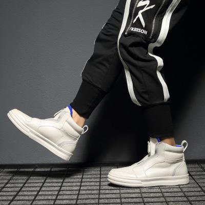 Giày Sneaker / Giày trượt ván 2019 mới giày đỏ lưới nam giày thủy triều dây kéo thương hiệu không qu